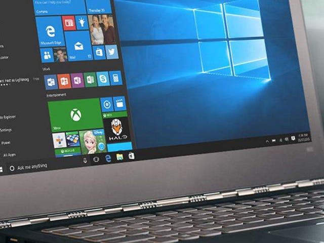 """Vous devez demander à Microsoft de """"publier"""" une mise à jour de Windows à 10 ans, mais il y a 10.000 jours"""