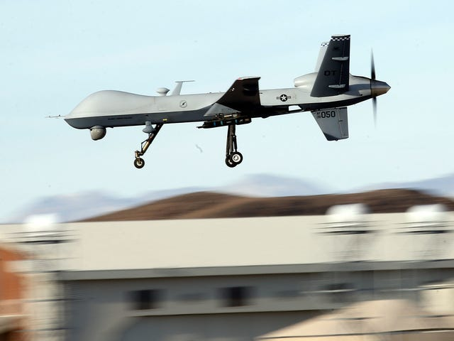 Report: National Guard Wants to Fly MQ-9 Reaper Drones at the U.S.-Mexico Border
