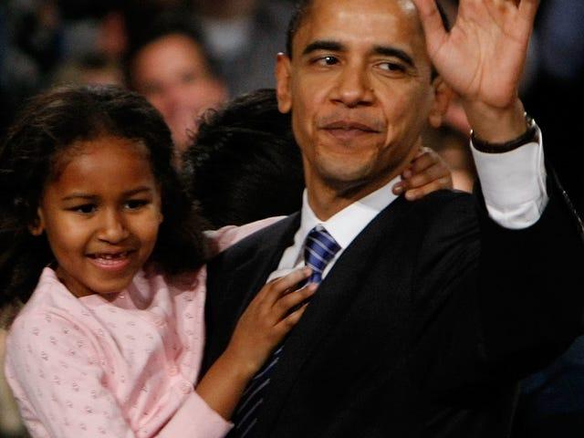 Cumartesi Gecesi Sosyal: Sasha Obama'nın Büyümüş Olduğu Gerçeğine Dikkatle Bakalım