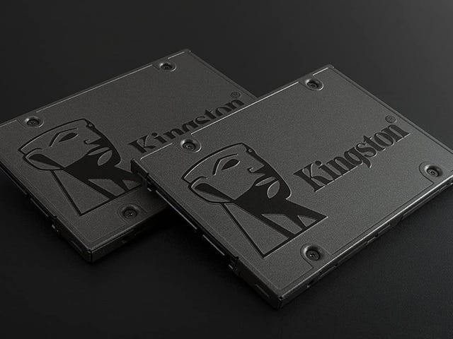 Tome un SSD Kingston de 480 GB por $ 54 y vea volar su PC