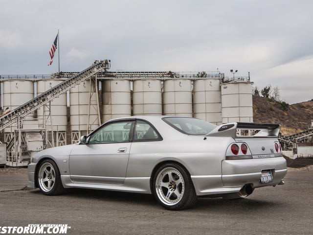 Okay, I'm gonna walk that one back (deleted post; R33 dump anyway).