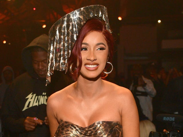 ForgetThe Nanny; Is Cardi B Low-Key Auditioning for The Little MermaidReboot?