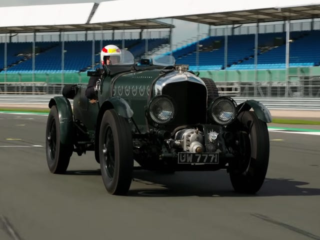 Even a Le Mans Winner Isn't Immune to the Charms of a Blower Bentley