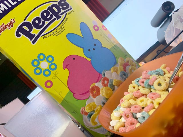 Limited Edition Peeps Cereal Misses The Point Of Peeps