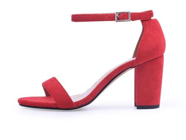 Women's Ankle Strap Heels