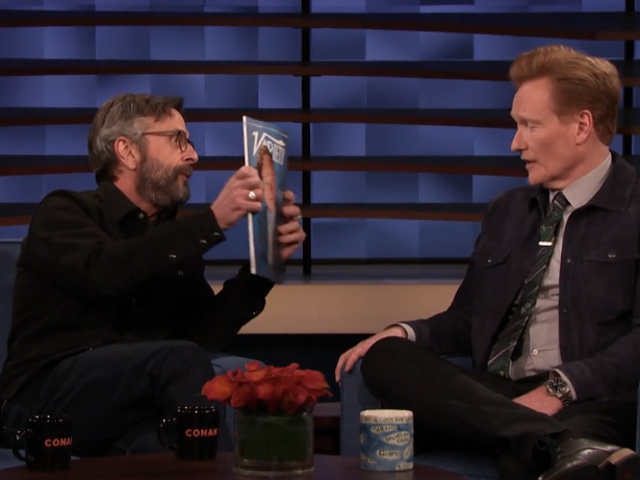 Marc Maron has some thoughts about newbie Conan O'Brien being named a podcasting pioneer