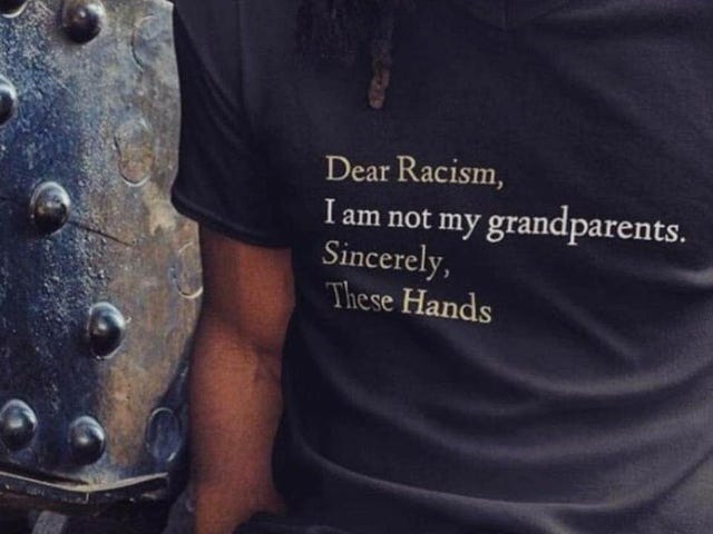 "Those ""I'm Not My Grandparents; You Can Catch These Hands"" Shirts Are Disrespectful As Fuck (And Wrong)"
