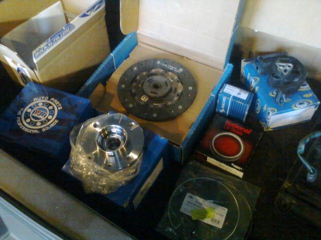 Titta på alla Saab-delarna som du får ...