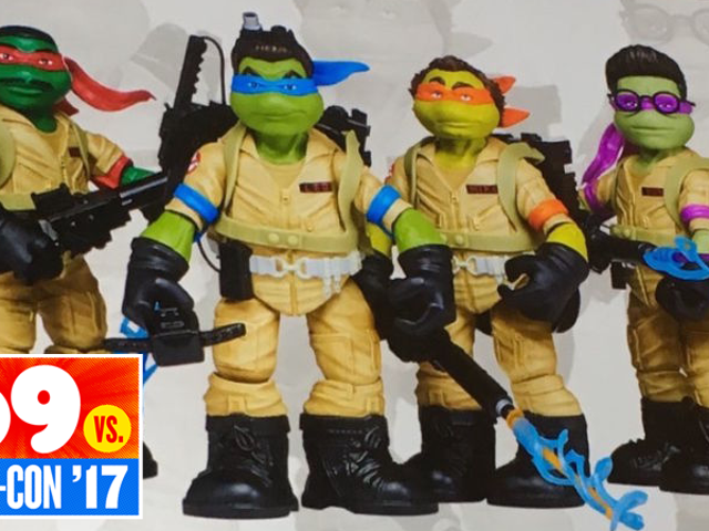 Here Are the Ninja Turtles/GhostbustersMash-Up Figures Someone Has Definitely Been Waiting for