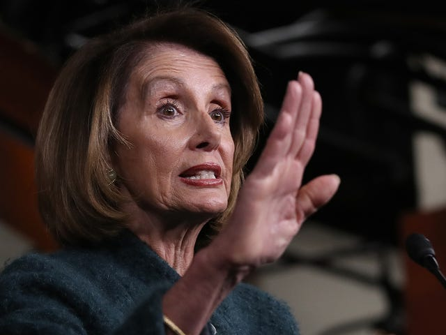 Donald Trump Said He Was Going to Give His Little Speech Anyway. Shorter Nancy Pelosi: I Said What I Said