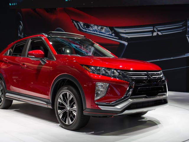 I'm Going To Give The 2018 Mitsubishi Eclipse Cross A Chance