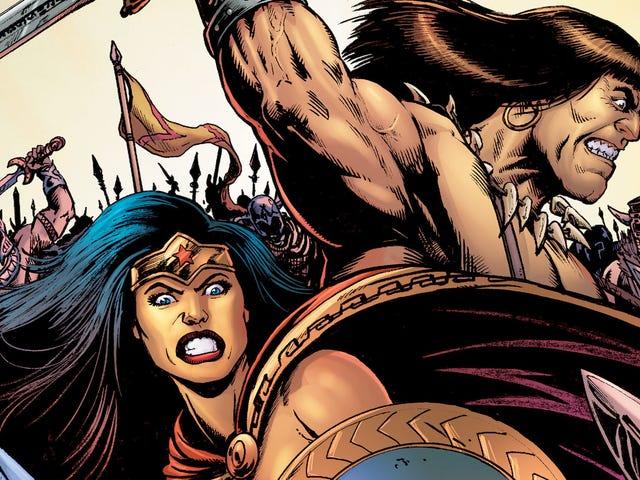 这位神奇女侠/柯南独家将戴安娜带入了一个野蛮人的世界