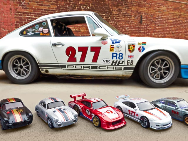 Hot Wheels New Series of Classic Porsches Were Customized by a Famous Tuner
