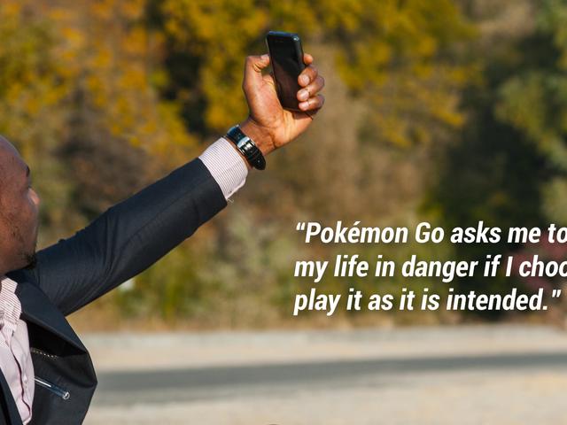 Pokémon GoCould Be A Death Sentence For A Black Man