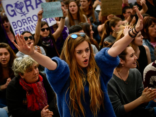 Protesters Ask 'Do We Have to Die to Prove Rape?' Following Controversial Verdict in Spain