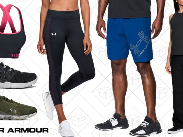 Under Armour Just Added Hundreds of Items To Their Outlet, And They're All Up to 40% Off