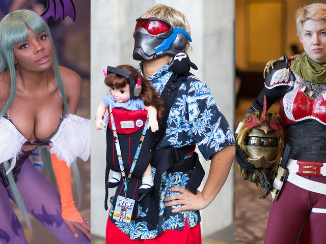 The Best Cosplay From RTX 2018