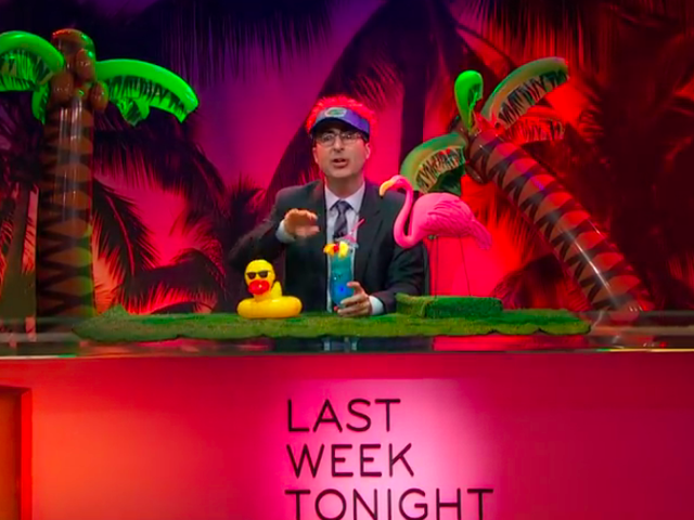 John Oliver makes a direct appeal to Floridians about voting rights on Last Week Tonight
