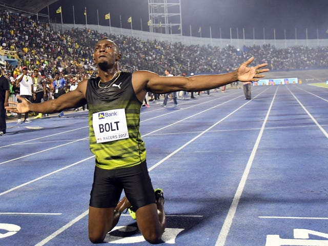 Usain Bolt Celebrates Final 100m Victory In Jamaica With Some Extremely Good Dance Moves
