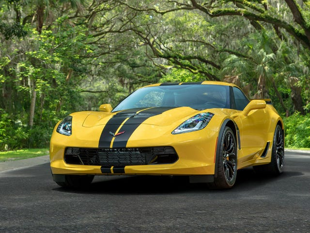 Buy One of Hertz's For Sure Very Pristine, Never Thrashed Rental Corvette Z06s for $100,000