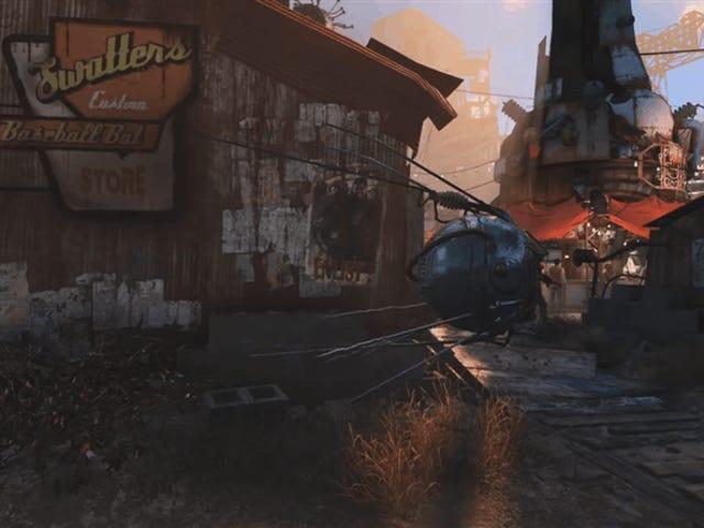 Thành phố kim cương Fallout 4's có một khu vực rối rắm ẩn giấu