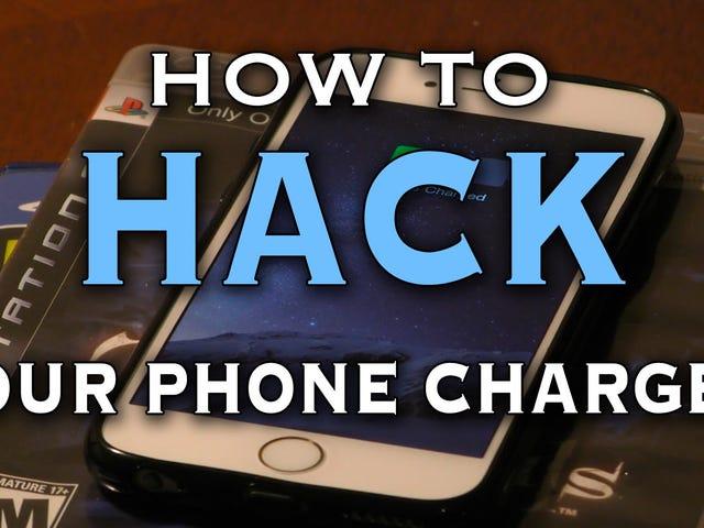 Kendi Kablosuz Telefonunuzu Şarj Pedi Neredeyse Her Şeyden Çıkarın