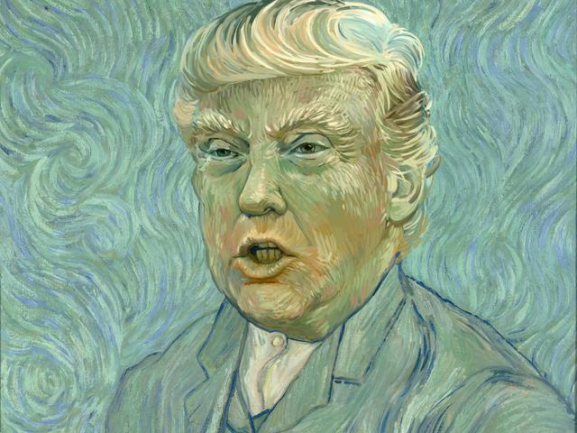 Μια καταραμένη εκδρομή μέσω του κόσμου της Trump Fan Fan Art