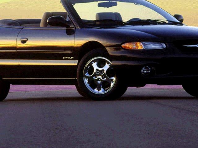 Dagens kommentar: Felaktiga fakta om Chrysler Sebring Edition