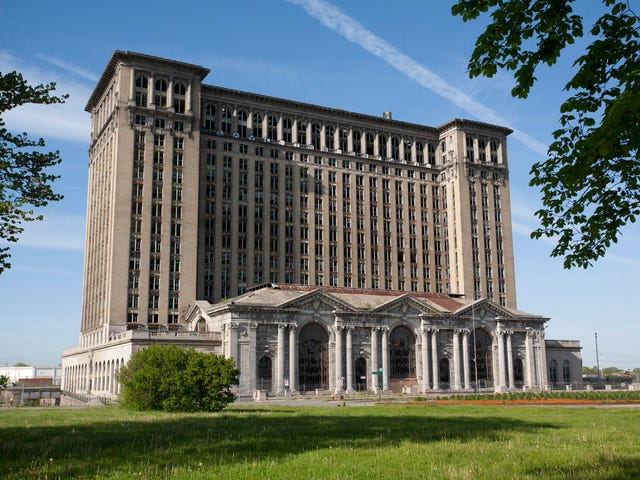 Michigan Central Train Station changes owners.