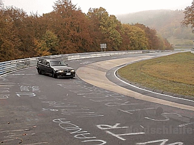 A Wet Nürburgring Is The Perfect Place To Drift Your BMW