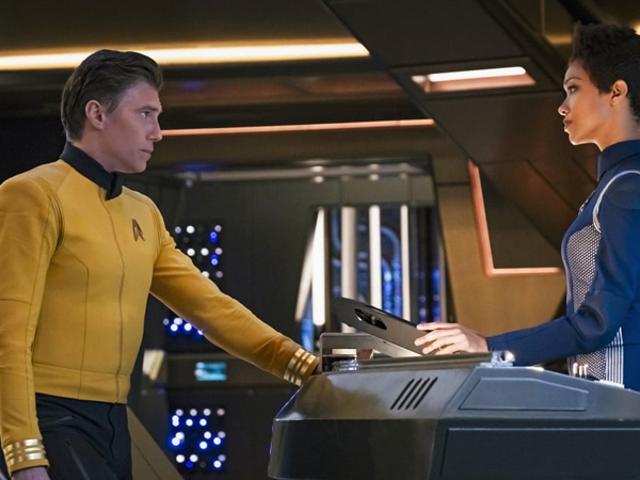 <i>Star Trek: Discovery</i> Die zweite Staffel von <i>Star Trek: Discovery</i> wird von einem neuen Captain unterstützt, der kein gewaltiges Arschloch ist