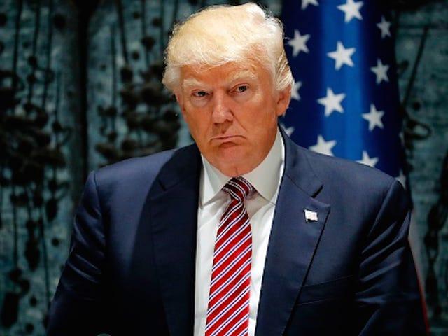 Donald Trump schlägt Budget vor, das Nahrungsmittelstempel und Medicaid Programme mischt