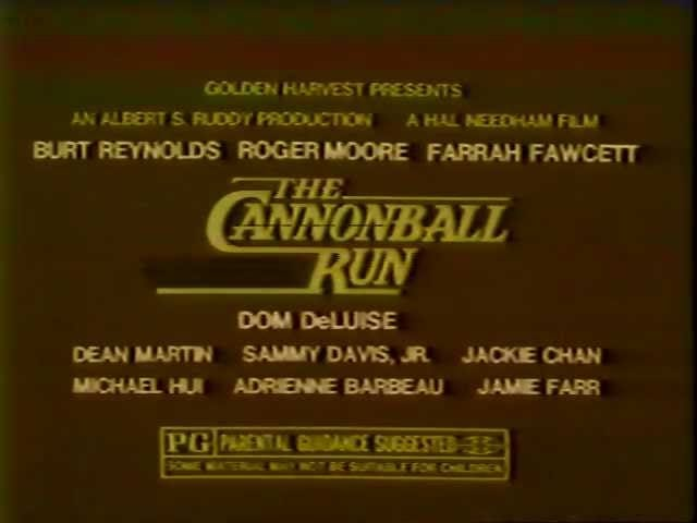 द कैनोनबॉल रन (1981)