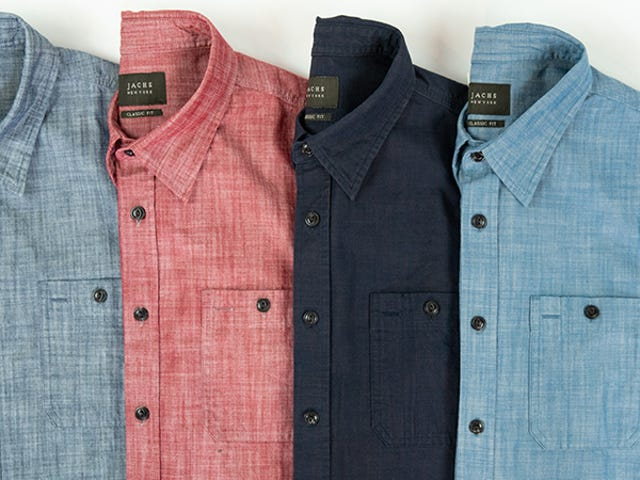Take 50% Off Jachs' Fall Collection Of Denim & Chambray Shirts ($39)