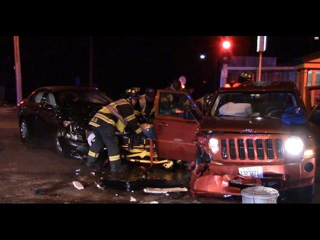 Beruset sjåfør i Illinois forårsaker øyeblikkelig ulykke, blir bustet