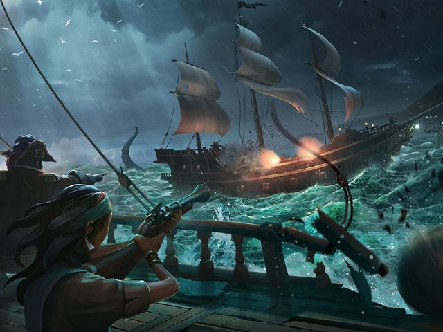 Apex Legends Might Have Killed Sea Of Thieves' Twitch Momentum