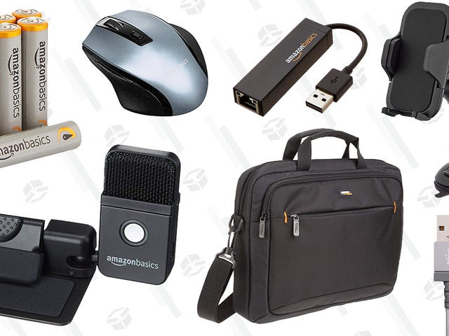 Today's Electronics Gold Box Is Full of Stuff You've Been Meaning to Buy