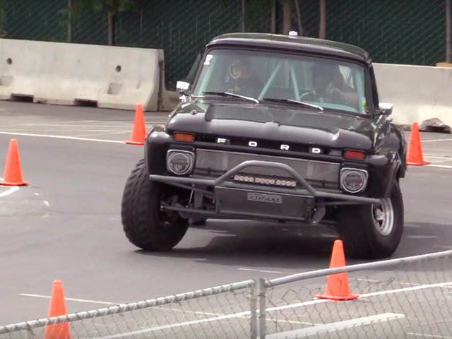 Ford Baja Truck Loses Autocross, Wins My Heart