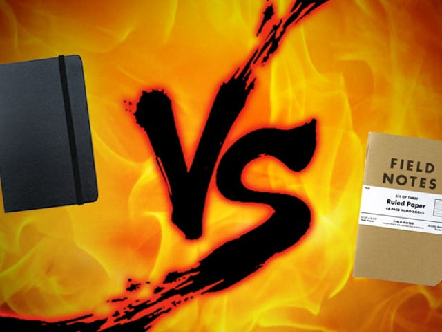 Кишеньковий паперовий ноутбук Showdown: Moleskine vs.