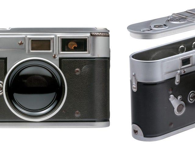 Você pode facilmente ter recursos para esta câmera Leica Vintage que é secretamente uma lata de doces