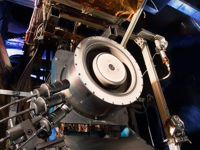 Este propulsor er en del av futuro de la exploración espacial