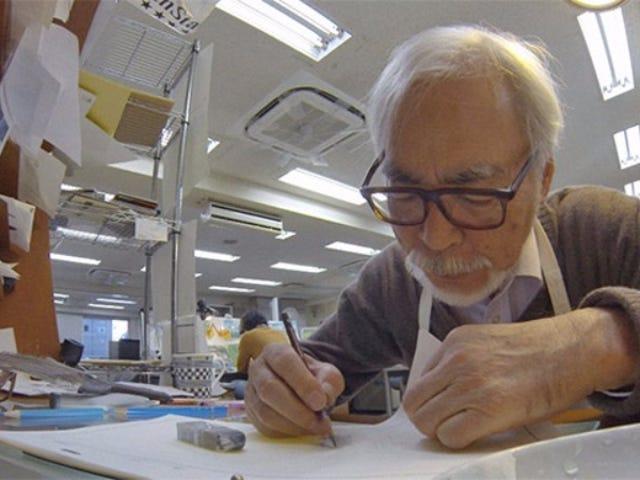 Studio Ghibli Producent tror ikke Hayao Miyazaki vil nogensinde gå på pension