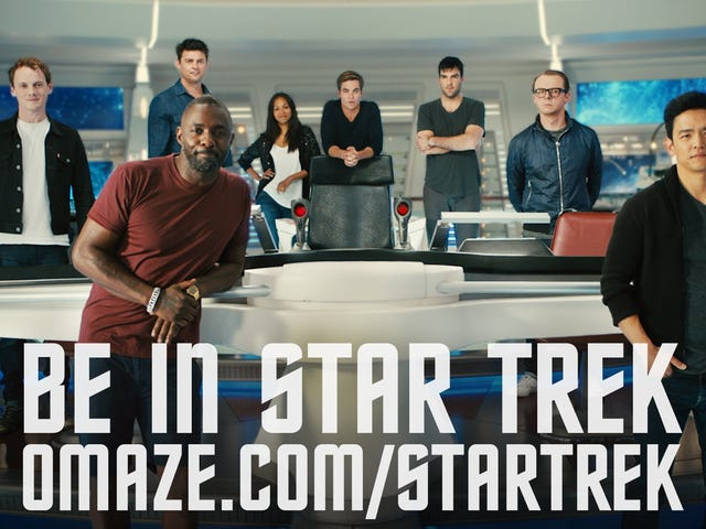 Walk Around the Enterprise in Star Trek Beyond Charity Video