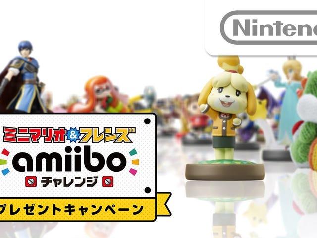 Nintendo está ejecutando una campaña especial de Amiibo en Japón