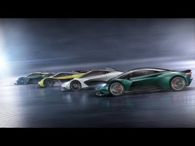 Yeah, I'd take any of these new Astons