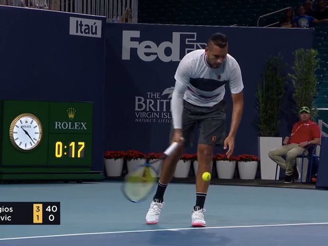 The Underarm Serve Trick Shouldn't Only Be Used By Nick Kyrgios