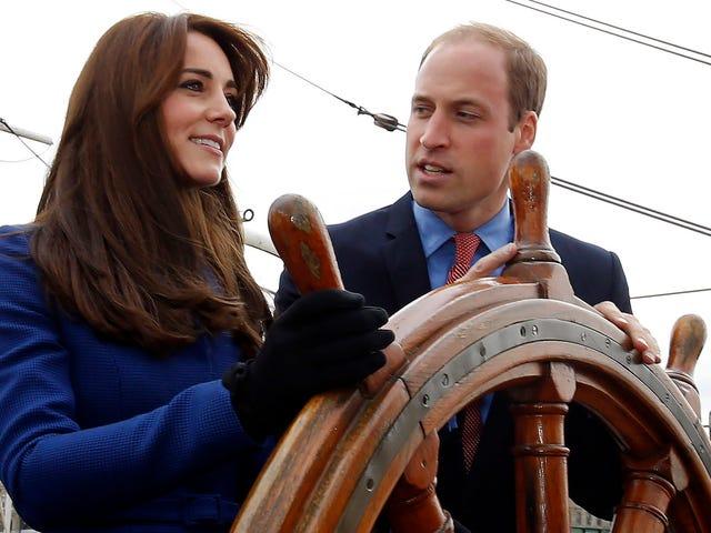Kate Middleton está carregando outro bebê real em seu ventre