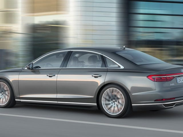 Say Goodbye To The W12 Audi A8