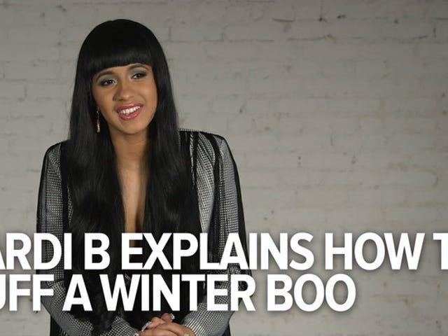 Cardi B, Queen of <i>Love & Hip-Hop</i> , Nagpapaliwanag Paano Mag-aanak ng Winter Boo