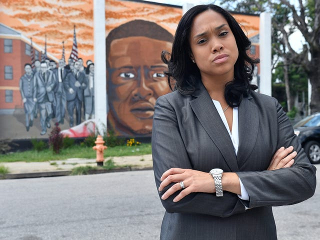 Baltimore's Marilyn Mosby Becomes Latest Top Attorney to Stop Prosecuting Marijuana Cases But Faces Major Hurdle—the Police